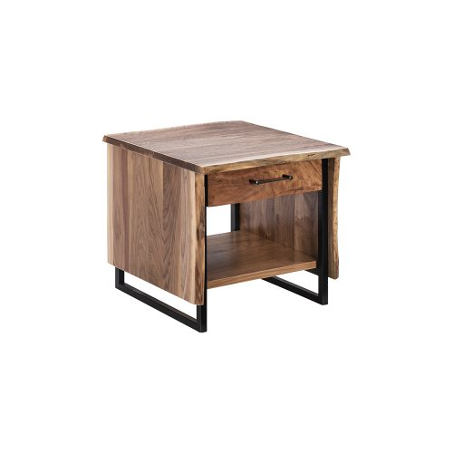 Troubadour Walnut End Table
