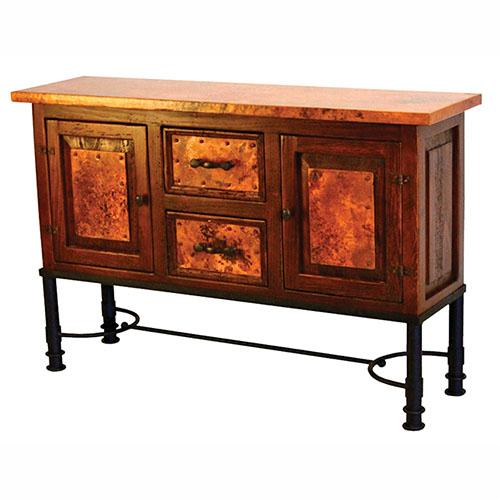 Patti Base Copper Console Table