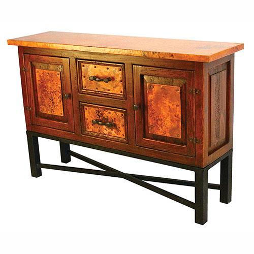 Copenhagen Copper Console Table