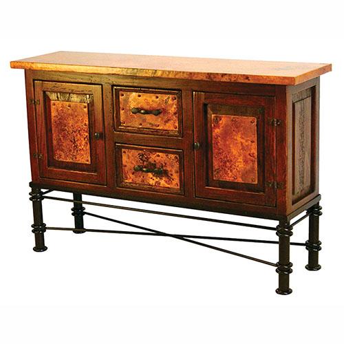 Jessica Base Copper Console Table