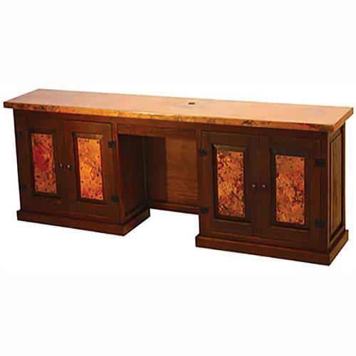 Copper Back Desk