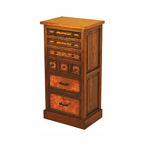 tall copper chest