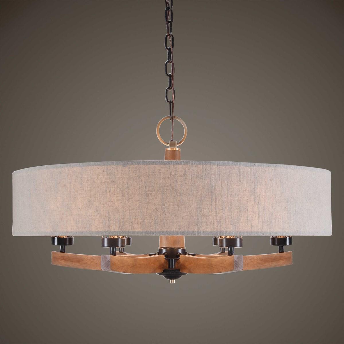 woodall 6 lt. chandelier